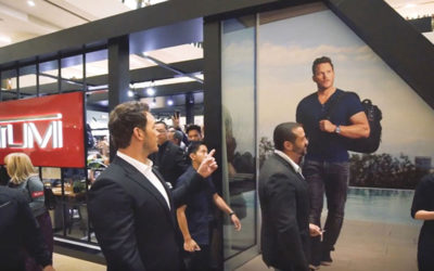 TUMI, Awethentic Studio: TUMI x Chris Pratt
