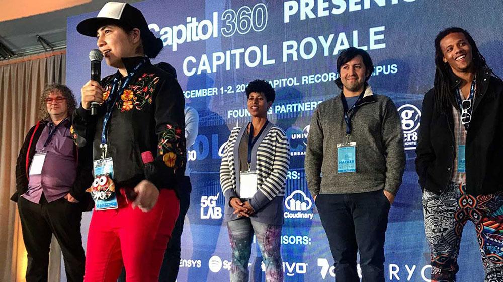 Verizon and Capitol Records: JAMES DAVIS 5G Hackathon